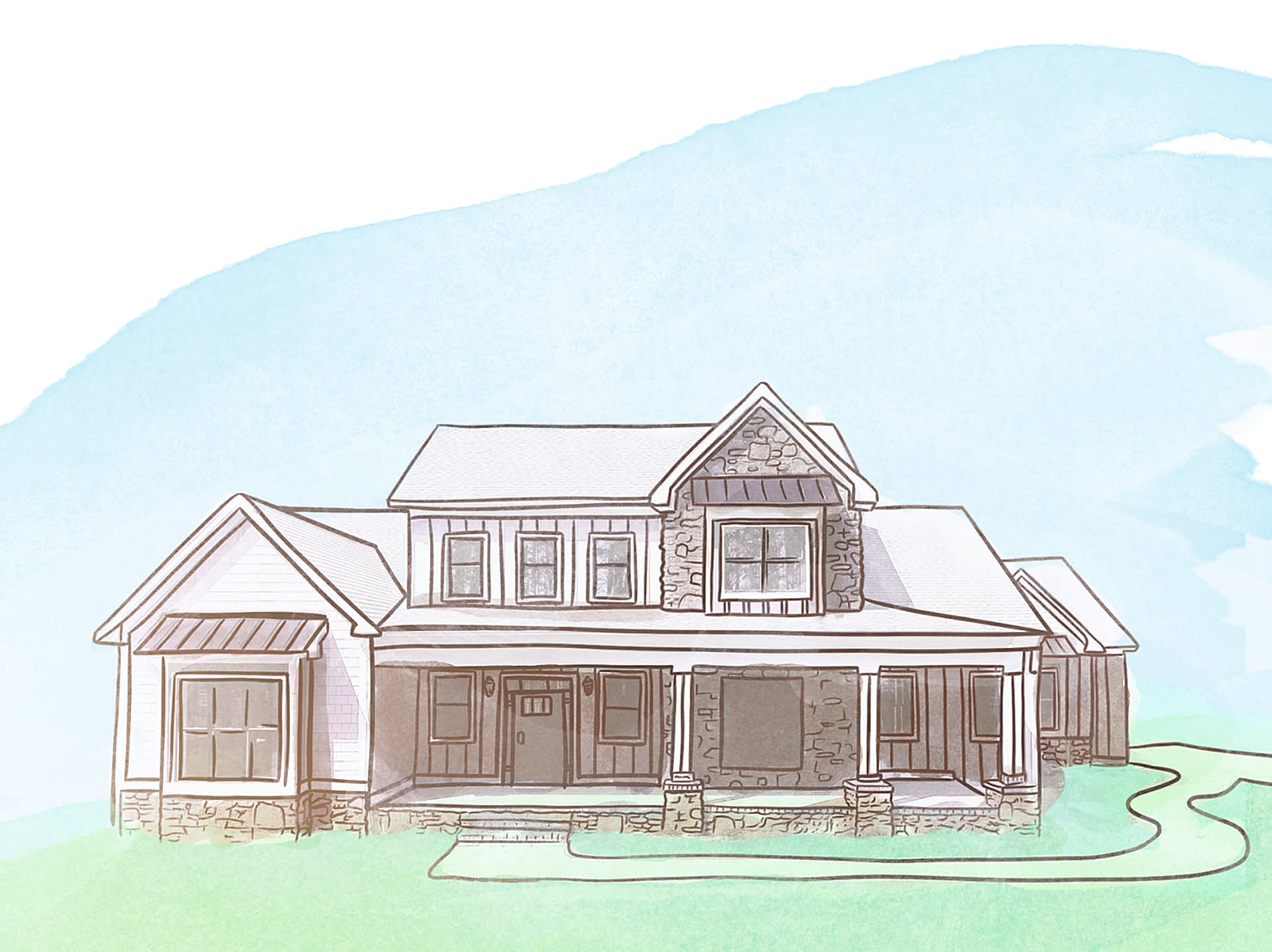 paragon-building-group-modern-farmhouse-illustration-sky